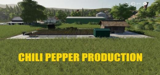 Photo of FS19 – Chili Pepper Garden V1