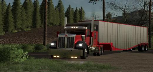 Photo of FS19 – Chip Van And Tipper Placeable V1