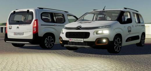 Photo of FS19 – Citroen Berlingo 2019 Irl V1