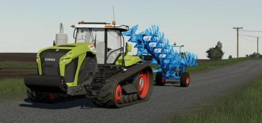 Photo of FS19 – Claas Xerion With Tracks V1