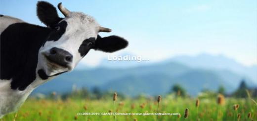 Photo of FS19 – Cow Menu Background V1