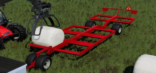 Photo of FS19 – Dmi Metalworx Bale Trailer V1