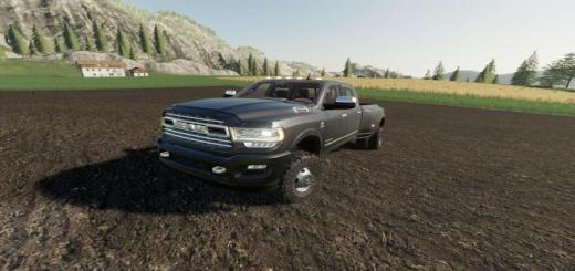 Photo of FS19 – Dodge 2019 Ram 3500 V1