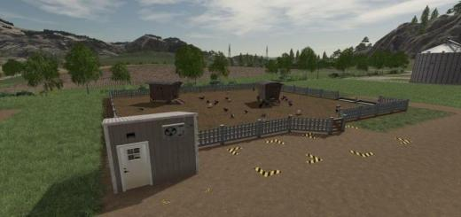 Photo of FS19 – Egg Storage Hut V1.0.1.0