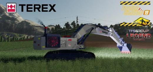 Photo of FS19 – Excavator Terex Rh90F Dirth V2