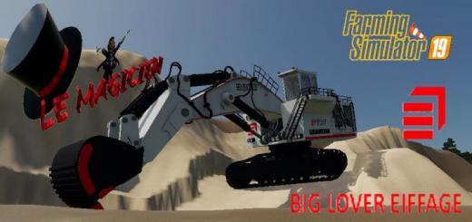 Photo of FS19 – Excavatrice 9800 Big Lover V1.2