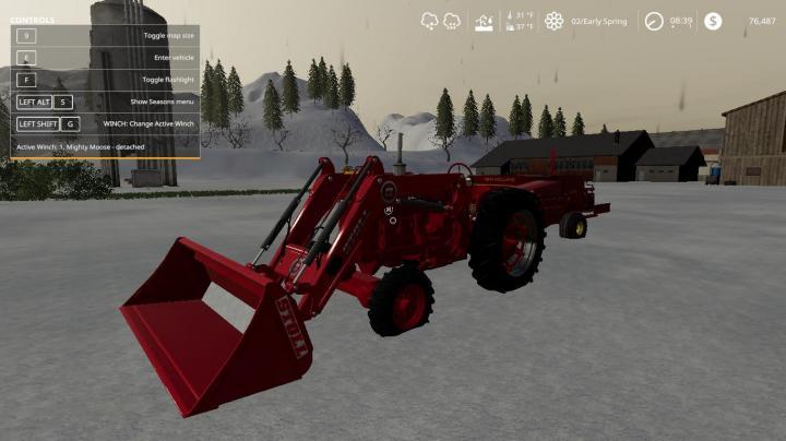 FS19 - Farmall M Tractor V2