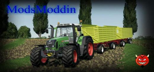 Photo of FS19 – Fendt 800 Vario Tms Tractor V1.1