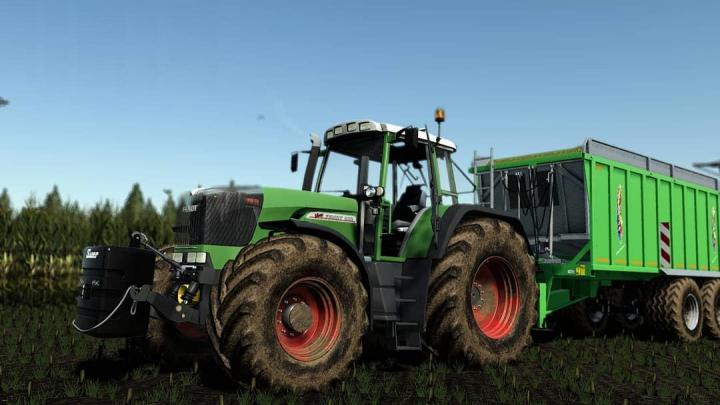 FS19 - Fendt 900 Vario Tms Tractor V2