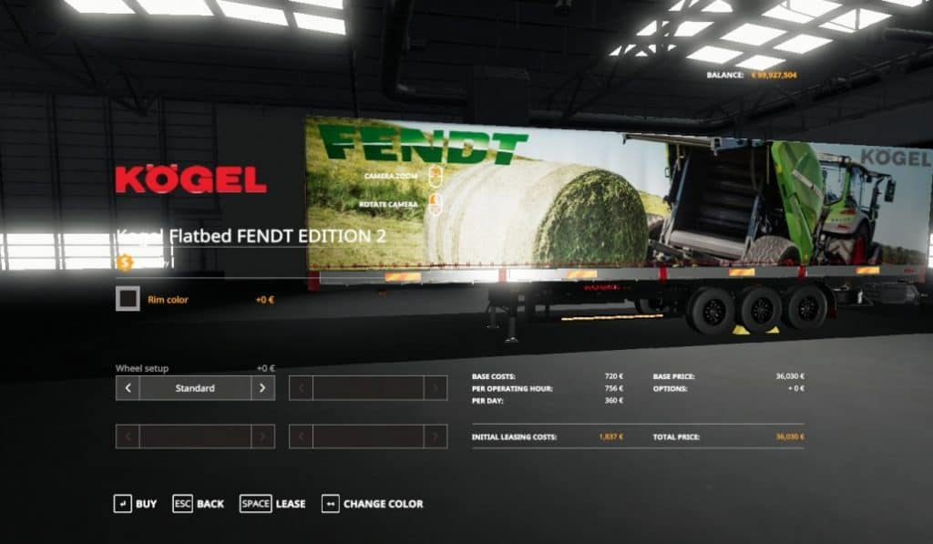 Photo of FS19 – Fendt Edition 2 Kogel Autoloader Trailer V1