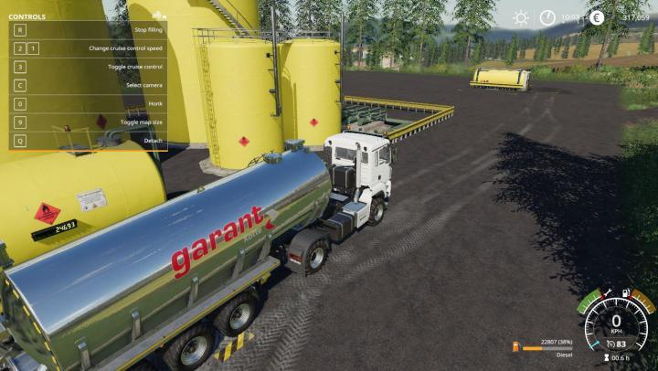 FS19 - Fenton Forest 4X Bio Diesel Factory V1