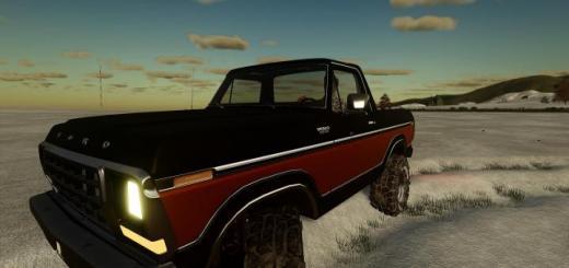Photo of FS19 – Ford Bronco Custom 1978 V0.9