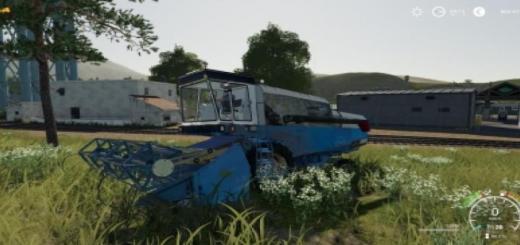 Photo of FS19 – Fortschritt E512 Old Harvester V1.1