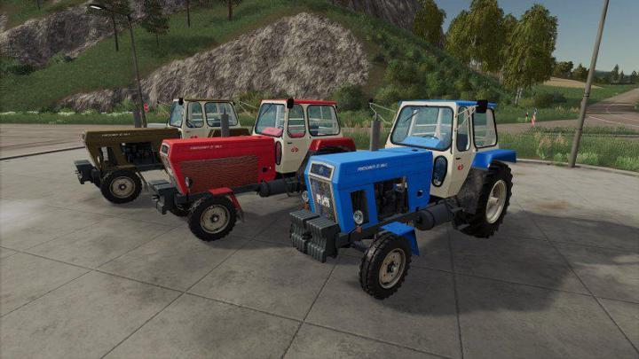 FS19 - Fortschritt Zt 300-C Tractor V2