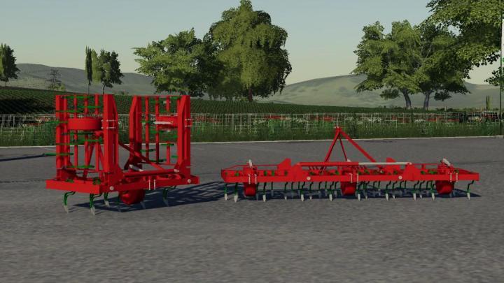 FS19 - Front Cultivator V1