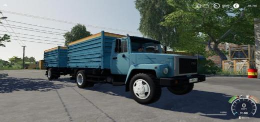 Photo of FS19 – Gaz-35071 And Saz-83173 V1.3