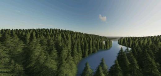 Photo of FS19 – Green Mountain Forest Logging Map V1.2.0.1