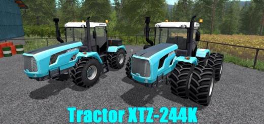 Photo of FS19 – Htz 244K Tractor V1.1