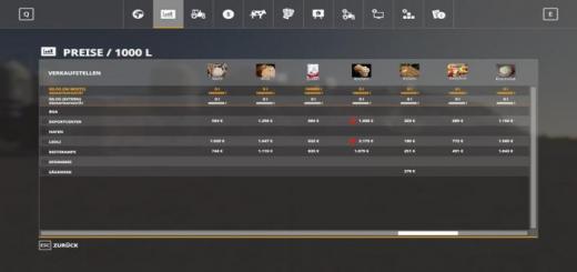 Photo of FS19 – Hud Files For Modmaps And Individual Hudfruit V1.4