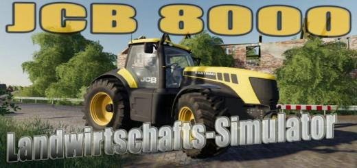 Photo of FS19 – Jcb 3000-8000 Tractor V1.2