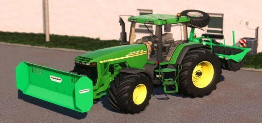 Photo of FS19 – John Deere 8X00/8X10 Tractor V2