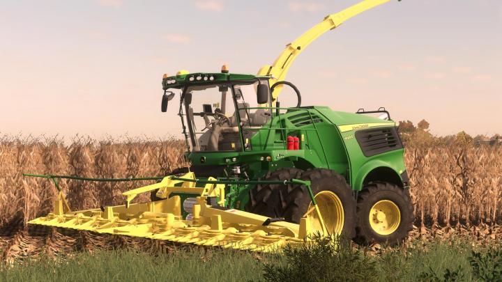 FS19 - John Deere 9000 Us Forage Harvestor V1