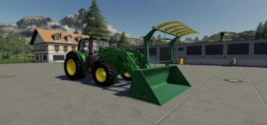 Photo of FS19 – John Deere Grapple Bucket V1