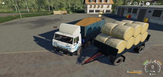 Photo of FS19 – Kamaz 5320 & Nefaz 8560 Autoload Pack V1.2
