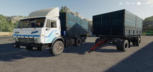Photo of FS19 – Kamaz 5320 & Nefaz 8560 Autoload Pack V1