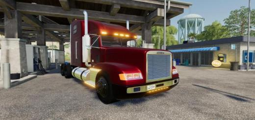 Photo of FS19 – Kentuckyderby Freightliner Classic V1