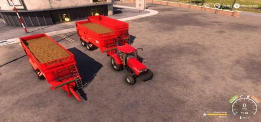Photo of FS19 – Krampe Bandit 750 Trailer V3