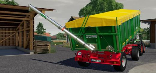 Photo of FS19 – Krone Agroliner Hkd 302 Old Trailer V1