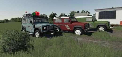 Photo of FS19 – Land Rover Defender Pack V1