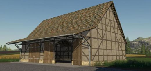 Photo of FS19 – Large Timberframe Barn V1
