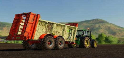 Photo of FS19 – Leboulch Goliath 70D24 Trailer V1