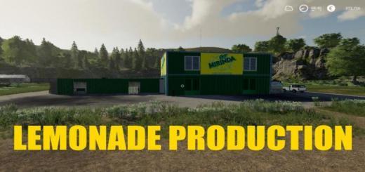 Photo of FS19 – Lemonade Production V1