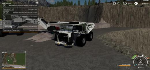 Photo of FS19 – Liebherr T284 And Cat V1