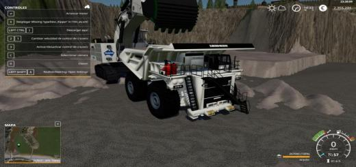 Photo of FS19 – Liebherr T284 And Caterpillar V2
