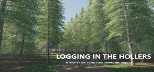 Photo of FS19 – Logging In The Hollers Map V1