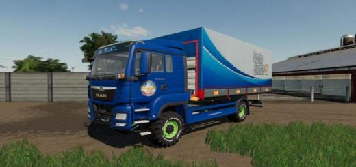 Photo of FS19 – Man Tgs Trucks With Flatbed And Tarpaulin V1.1.1