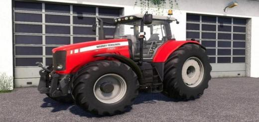 Photo of FS19 – Massey Ferguson 7400 Tractor V2