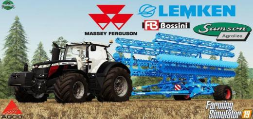 Photo of FS19 – Massey Ferguson 8700S Tractor V1
