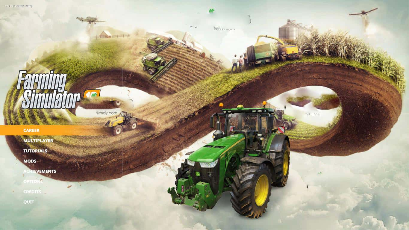 Photo of FS19 – Modern Farming Menu Background V1