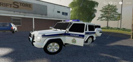 Photo of FS19 – Mercedes-Benz G55 Amg Police V1
