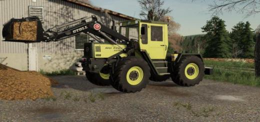 Photo of FS19 – Mercedes-Benz Trac 1000-1100 V1.1