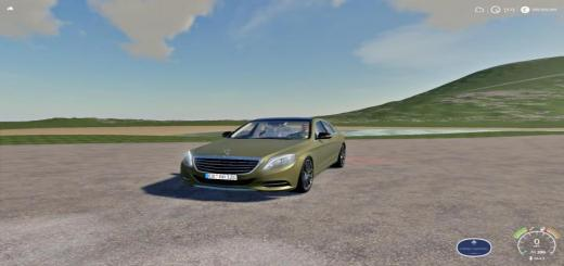 Photo of FS19 – Mercedes S63 V1