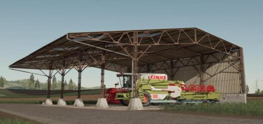 Photo of FS19 – Metal Shed V1