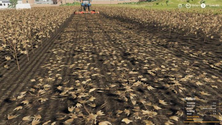 FS19 - Mowable Cotton Stalks V1