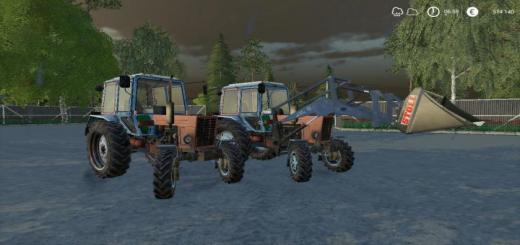 Photo of FS19 – Mtz 100 Tractor V1