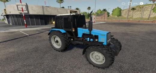 Photo of FS19 – Mtz -1221 Tractor V3
